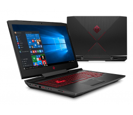 HP OMEN i5-7300HQ/8GB/1TB+128SSD/Win10 GTX1050  (17-an004mw (1WB36EA))