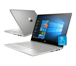 HP Pavilion x360 i5-8250U/16GB/480/Win10  (14-cd0006nw (4TY11EA) - 480 SSD PCIe)