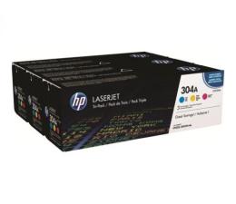 HP Zestaw 304A CMY CF372AM (CC531A, CC532A, CC533A) (Color LaserJet CM2320/CP2020/CP2025)