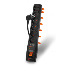 HSK DATA Acar AXON Protector 370 DVB-T 1,5m TV (7 gniazd) (AXON 370 DVB-T)
