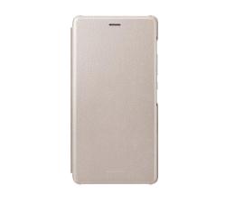 Huawei Etui z Klapką do Huawei P9 Lite złote (6901443106424)