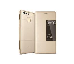 Huawei Etui z Klapką Typu Smart do Huawei P9 złote (6901443105717)