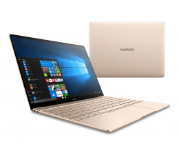 """Huawei MateBook X 13"""" i7-7500U/8GB/512SSD/Win10  (WT-W19 PRESTIGE GOLD)"""