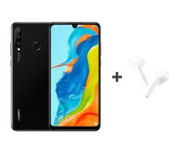 Huawei P30 Lite 128GB Czarny + FreeBuds Lite białe  (Marie-L21A Black + CM-H1C)