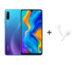 Huawei P30 Lite 128GB Niebieski + FreeBuds Lite białe  (Marie-L21A Peacock Blue + CM-H1C)