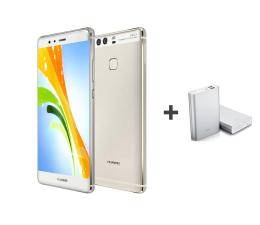 Huawei P9 Srebrny + Powerbank 13000mAh  (EVA-L09 MYSTIC SILVER + 6901443044603)