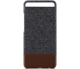 Huawei Plecki Skóra/Filc do Huawei P10 ciemnoszary (6901443158911 )