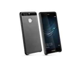 Huawei Skórzane Plecki do Huawei P9 czarny (6901443102006)