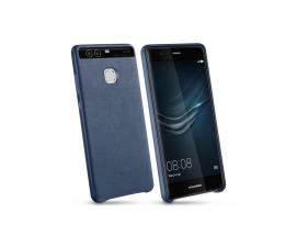 Huawei Skórzane Plecki do Huawei P9 niebieski (6901443102013)