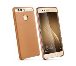 Huawei Skórzane Plecki do Huawei P9 Plus brązowy (6901443109296)