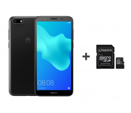 Huawei Y5 2018 Czarny + 16GB (Dura-L21 Black+SDCS/16GB)