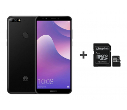 Huawei Y7 Prime 2018 Czarny + 32GB (London-L21B Black+SDCS/32GB)