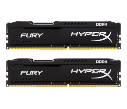 HyperX 8GB 2400MHz Fury Black CL15 (2x4096) (HX424C15FBK2/8)