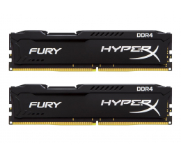 HyperX 8GB 2400MHz Fury Black CL15 (2x4GB) (HX424C15FBK2/8)