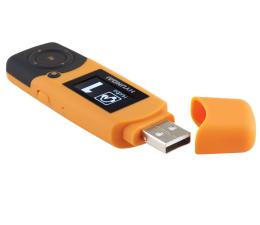 Hyundai MP366 8GB radio FM pomarańczowy (MP366GB8FMO)