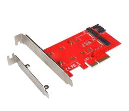 i-tec Adapter PCI-E SATA 2x M.2 Card PCI-E/SATA (PCE2M2)