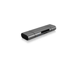 ICY BOX Czytnik kart microSD USB (microUSB) - USB C (IB-CR200-C)