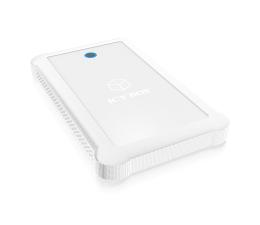 ICY BOX Obudowa do dysku 2,5 + bumper biała (IB-233U3-Wh)
