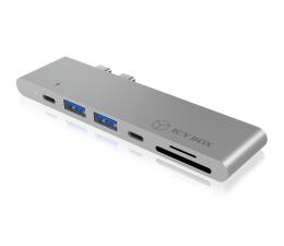 ICY BOX Stacja dokująca MacBook Pro (USB-C, SD, HDMI)  (IB-DK4037-2C)
