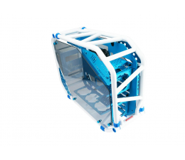 IN WIN D-Frame 2.0 (1065W) biały/niebieski (GEIW-101/D-Frame 2.0)