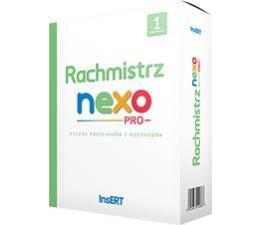 InsERT Rachmistrz Nexo PRO 1st. (księgowość i finanse)  (RNP1)