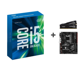 Intel i5-6600K+Z170A GAMING PRO CARBON+16GB 2400MHz (250150+284653+254686 )