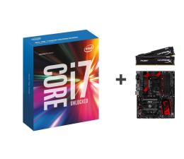 Intel i7-6700K+Z170A GAMING M5+16GB 2400MHz  (250152+252360+254686)