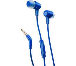 JBL E15 słuchawki dokanałowe z mikrofonem niebieskie (E15BLU)