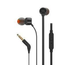 JBL T110 PureBass słuchawki dokanałowe czarne  (T110BLK)