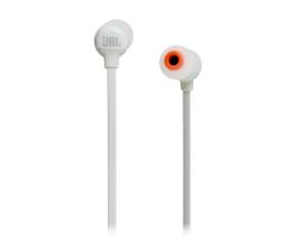 JBL T110BT PureBass słuchawki dokanałowe białe (T110BTWHT)