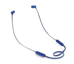 JBL T110BT PureBass słuchawki dokanałowe niebieskie (T110BTBLU)