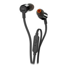 JBL T210 PureBass słuchawki dokanałowe czarne (T210BLK)