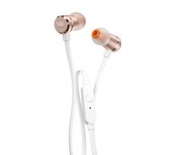 JBL T290 PureBass słuchawki dokanałowe biało-złote (T290WG)
