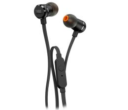 JBL T290 PureBass słuchawki dokanałowe czarne (T290BLK)