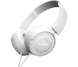 JBL T450 PureBass słuchawki zamknięte białe (T450WHT)