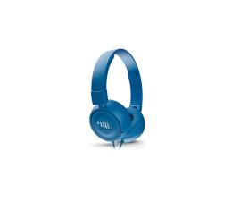 JBL T450 PureBass słuchawki zamknięte niebieskie (T450BLU)