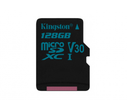 Kingston 128GB microSDXC Canvas Go! 90MB/s C10 UHS-I V30 (SDCG2/128GB)