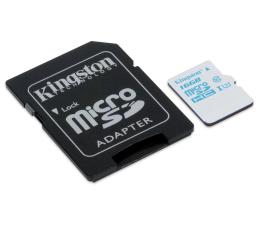 Kingston 16GB microSDHC UHS-I U3 zapis 45MB/s odczyt 90MB/s (SDCAC/16GB)