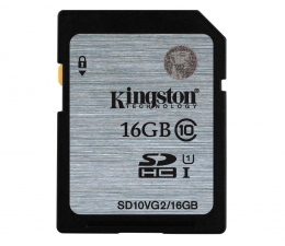 Kingston 16GB SDHC UHS-I Class 10 45MB/s (SD10VG2/16GB)
