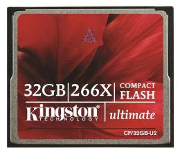 Kingston 32GB Compact Flash Ultimate 266x (CF/32GB-U2)