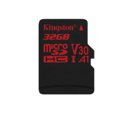 Kingston 32GB microSDHC Canvas React 100MB/s UHS-I V30 A1 (SDCR/32GB)