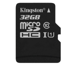 Kingston 32GB microSDHC Class10 +czytnik USB +adapter SDHC (MBLY10G2/32GB)