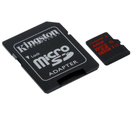 Kingston 32GB microSDHC UHS-I U3 zapis 80MB/s odczyt 90MB/s (SDCA3/32GB )