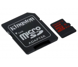 Kingston 32GB microSDHC UHS-I U3 zapis 80MB/s odczyt 90MB/s (SDCA3/32GB )