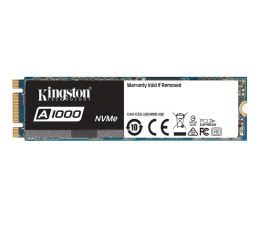 Kingston 480GB M.2 2280 A1000 PCIe  (SA1000M8/480G)