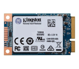 Kingston 480GB mSATA SSD UV500  (SUV500MS/480G)
