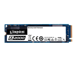 Kingston 500GB M.2 2280 A2000 NVMe PCIe (SA2000M8/500G)