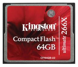 Kingston 64GB Compact Flash Ultimate 266x (CF/64GB-U2)