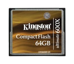 Kingston 64GB CompactFlash Ultimate 600x (CF/64GB-U3)