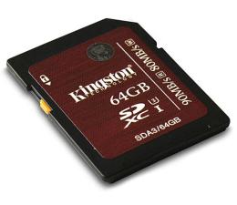 Kingston 64GB SDXC UHS-I U3 90MB/s  (SDA3/64GB)